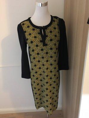 Windsor Woolen Dress multicolored silk