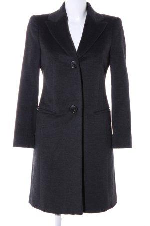 Windsor Wollmantel schwarz meliert Casual-Look