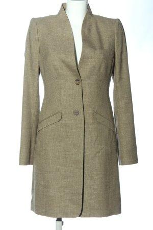 Windsor Manteau en laine blanc cassé style décontracté