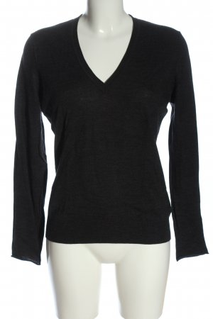 Windsor Wollpullover schwarz Casual-Look