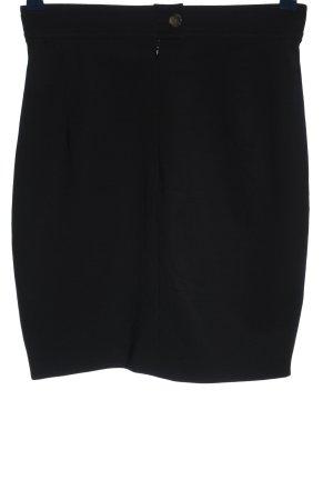 Windsor Jupe en laine noir style décontracté