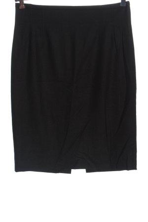 Windsor Wollen rok zwart gestippeld casual uitstraling