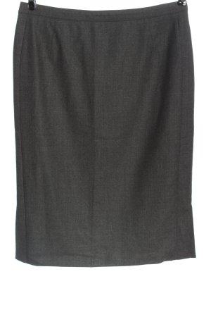 Windsor Wollen rok khaki gestippeld casual uitstraling