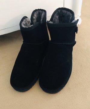 Winter Booties Schwarz