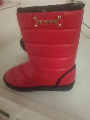 Booties red