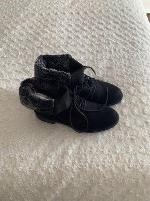 Deichmann Botas de tobillo negro