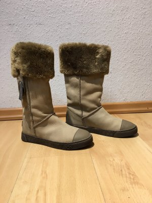 AQAQ Winter Boots multicolored leather