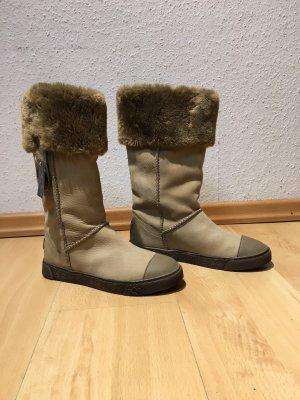 AQAQ Winter Boots multicolored leather