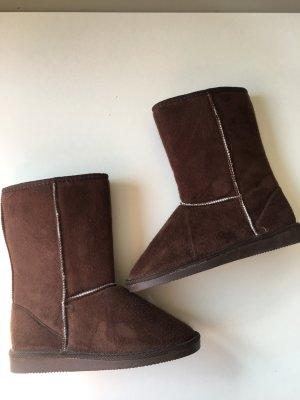 Winter Boots dunkelbraun Gr. 36