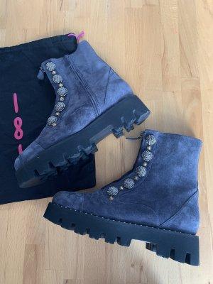 Winter Boots mit Fell & Verzierungen
