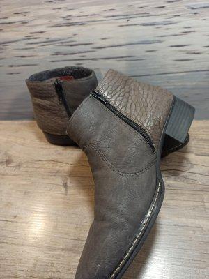 Winter Boots Schuhe Stiefelette Rieker in Gr. 41 gefüttert! Kaum getragen!