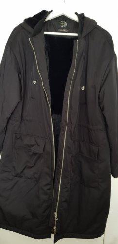 C&A Hooded Coat black