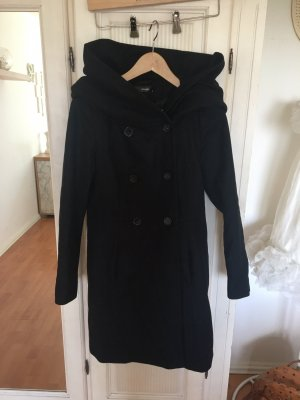 Hallhuber Winter Coat black