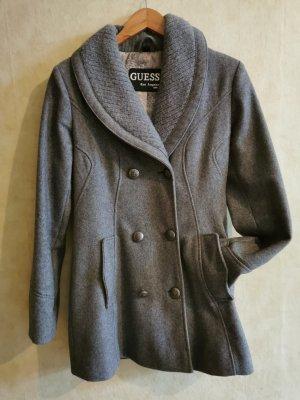 Guess Chaqueta de lana gris