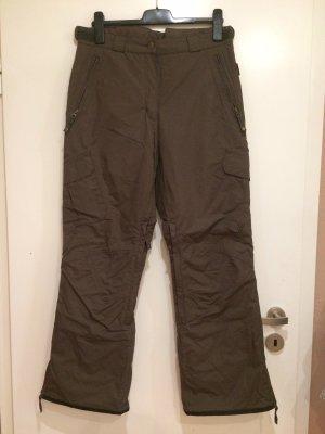 Crane Pantalón de esquí marrón oscuro-marrón