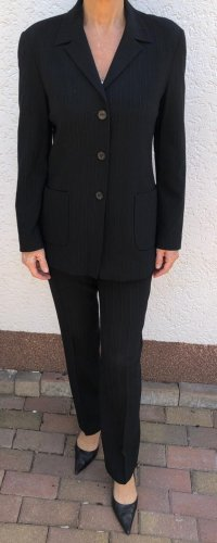 Zapa Pinstripe Suit black