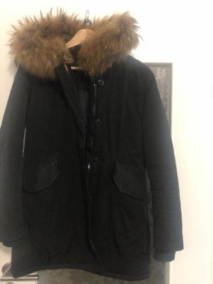 Winter Jacke 36 mit Echtfell