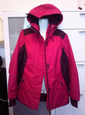 active by Tchibo Winter Jacket neon red-raspberry-red