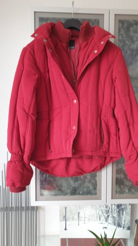 Amisu Winter Jacket dark red