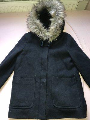 Zara Winter Jacket dark blue