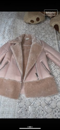 Biker Jacket rose-gold-coloured