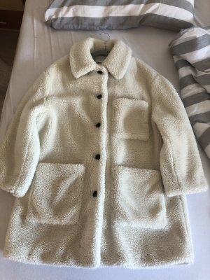 Winter Jacke aus Fell von ZARA, einmal getragen  Größe M