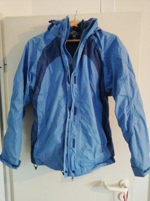 winter Jacke blau shamp S