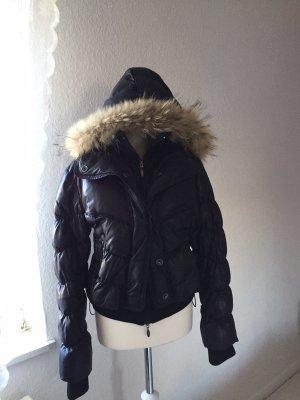 Winter Jacke Echtfell Gr. M-L