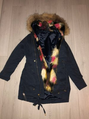 Fracomina Fake Fur Jacket multicolored