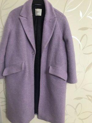 Mango Veste longue violet