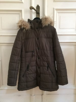 Winter Jacket green grey