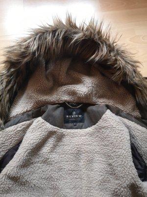 Review Kurtka zimowa brązowy-ciemnobrązowy