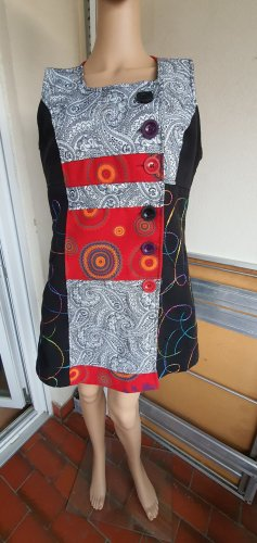 Made in Italy Robe en laine noir