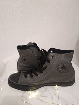 Converse Lace-Up Sneaker dark grey leather