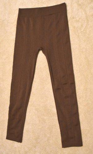 Legging bruin Polyester