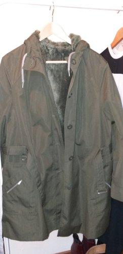 Alba Moda Manteau d'hiver vert foncé
