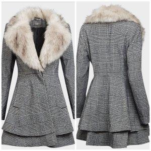 Asos Geklede jurk grijs Polyester