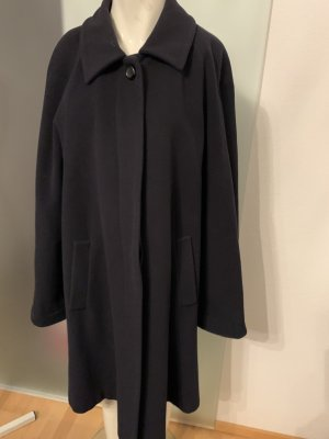 Classic Oversized Coat dark blue
