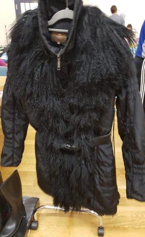 Winter Mantel  mit  Lammfell