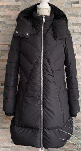 Versace Collection Gewatteerde jas zwart