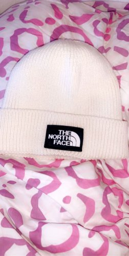 North Face Stoffen muts wit-room