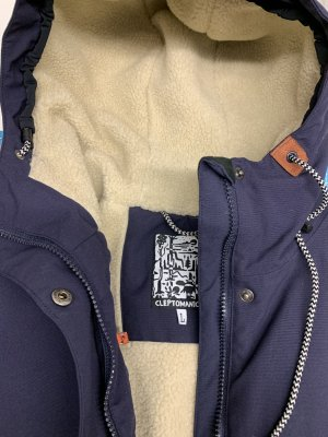 Cleptomanicx Winter Jacket dark blue