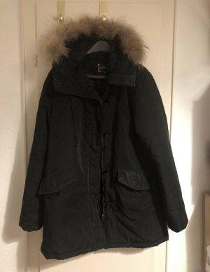 CoolCat Manteau en duvet noir
