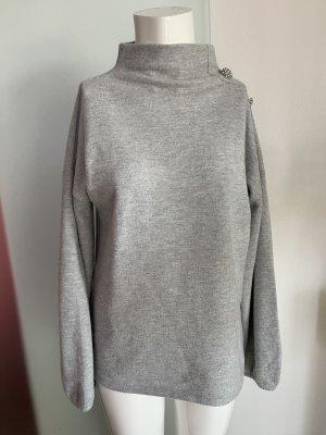 Orsay Polarowy sweter jasnoszary