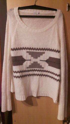 Winter Pullover, weiß