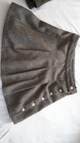 Marco Polo Jupe en laine gris foncé