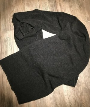 Zara Knitted Scarf taupe-black
