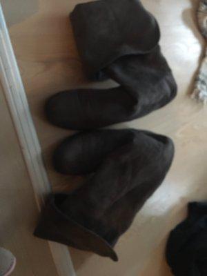 Halfhoge laarzen grijs