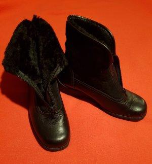 Longo Botines de invierno negro