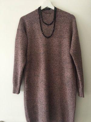 Jessica Sweaterjurk zwart-roze